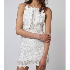 NWT Topshop Lace Detailed Bodycon Dress - Size 4